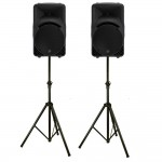 Pair Mackie SRM450 V3 Powered Speakers zoom